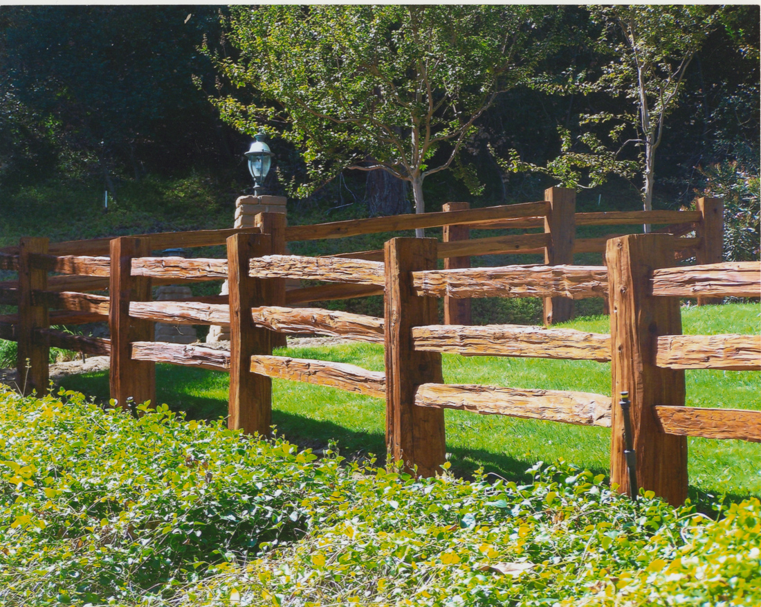 Split rail fences for 4 foot fence ideas